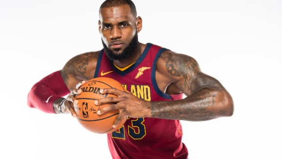 "Cleveland Cavaliers' LeBron James is another major athlete with major art work on his body. The world's most famous NBA player has ""Chosen 1"" on his back, to name just one, a tattoo he had done after becoming a cover star on a Sports Illustrated issue while still in High School."