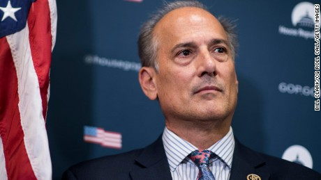 UNITED STATES - SEPTEMBER 27: Rep. Tom Marino, R-Pa., participates in the House GOP leadership press conference after the House Republican Conference meeting in the Capitol on Tuesday, Sept. 27, 2016. (Photo By Bill Clark/CQ Roll Call)