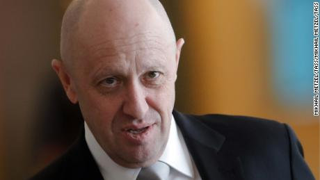 Yevgeny Prigozhin seen after the sixth meeting of the High-Level Russian-Turkish Cooperation Council in March 2017.
