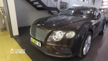 Marketplace Africa Bentley looks to target the rich in Kenya A_00010015