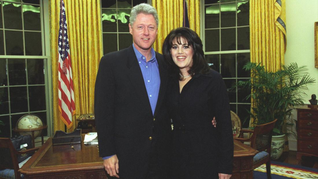 Image result for Bill clinton and Monica Lewinsky