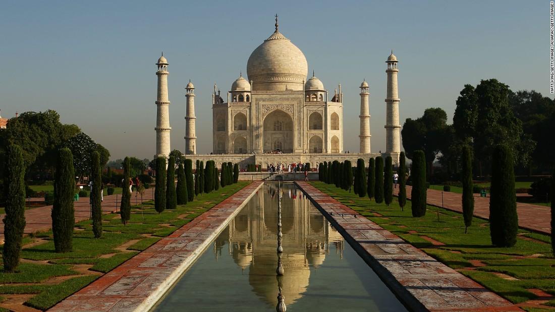 Taj Mahal Höhe