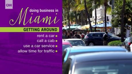 Miami work trip tips - CNN Video