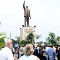 02 North Korea africa statues