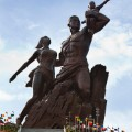 07 North Korea africa statues RESTRICTED