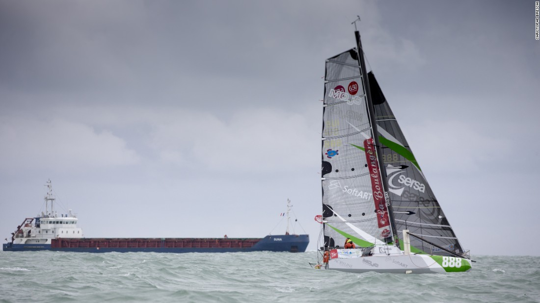 Having completed the Mini Transat twice before, he believes he is far better prepared mentally this time around.