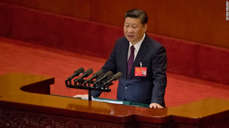 China's Xi lays out vision for his country