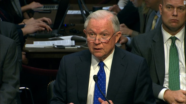 Senator grills Sessions over Russia meetings