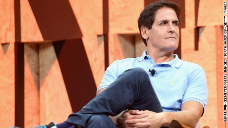 BEVERLY HILLS, CA - OCTOBER 03:  Owner of the Dallas Mavericks Mark Cuban speaks onstage during Vanity Fair New Establishment Summit at Wallis Annenberg Center for the Performing Arts on October 3, 2017 in Beverly Hills, California.  (Photo by Matt Winkelmeyer/Getty Images)