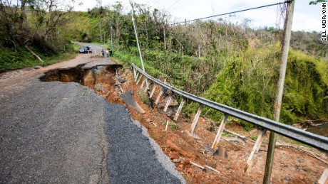 Getting anywhere can be treacherous, with roads wiped out and mudslides still happening.