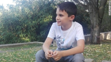 """We are destroying the world with our actions,"" says 9-year-old Andre. ""To shut up and say it's wrong is not enough. We have to act for a better future."""