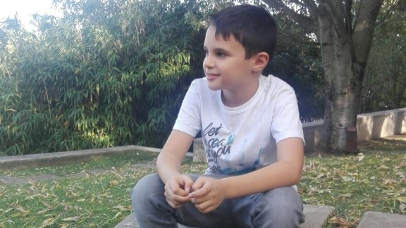 """We are destroying the world with our actions,"" says 9-year-old Andre. ""To shut up and say it"