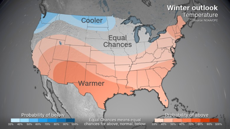 You Can Probably Leave The Long Underwear In Storage If You Live In The South Noaa Says Two Thirds Of The Continental Us Will Likely Experience