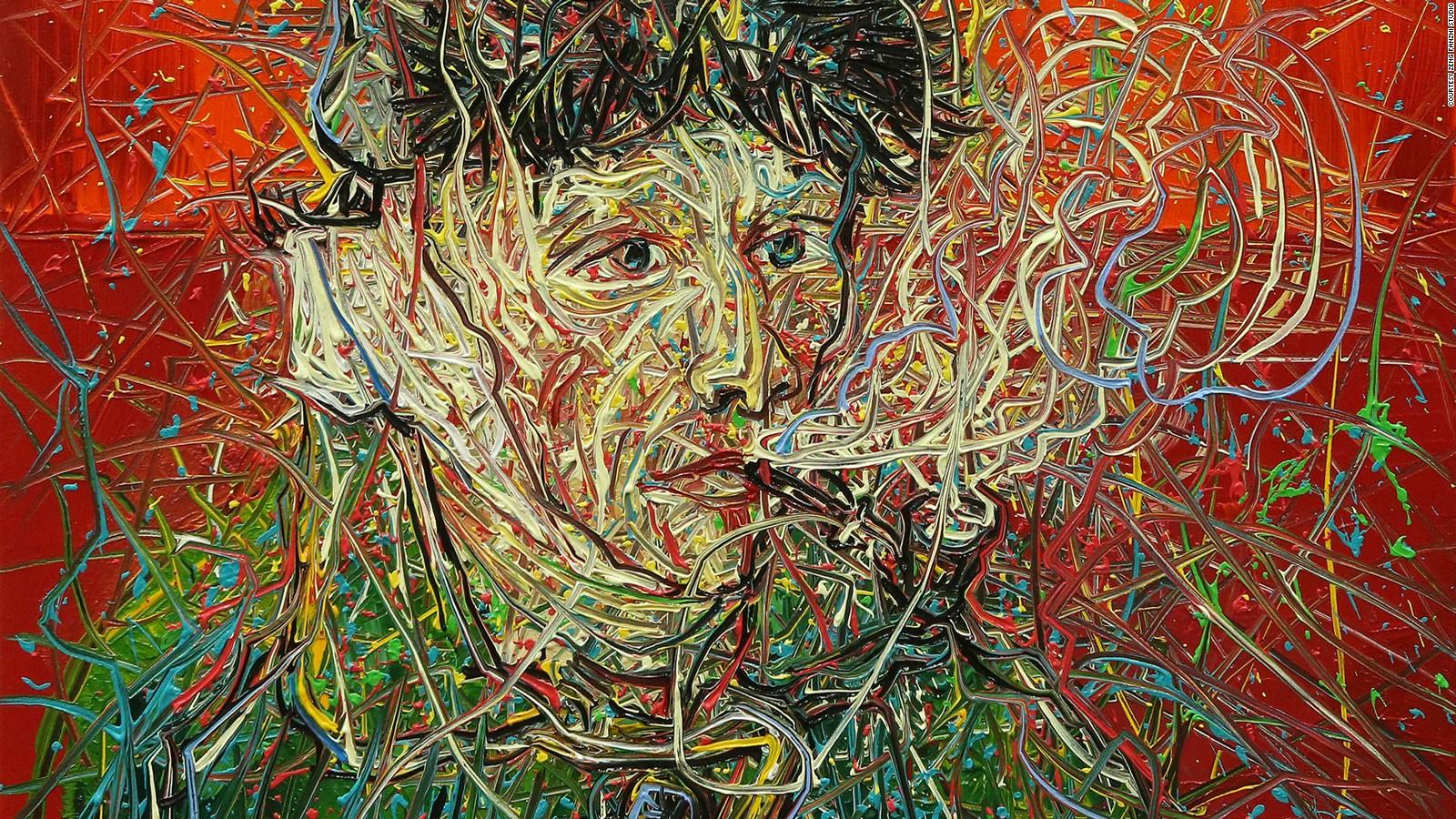 Zeng Fanzhi Recreates Van Gogh Self Portraits To Stunning Effect