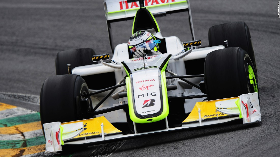 Button joined the Brawn GP team in 2009 in a move that would change his life forever. The Briton won six races during the 2009 season propelling him to his first and only F1 world title.