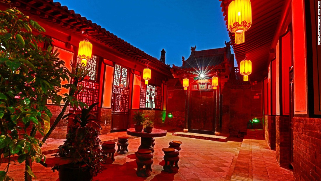 Many of Pingyao's historic courtyard homes have been restored with some -- including  the Xiang Sheng Yuan Guest House -- transformed into tourist accommodation.