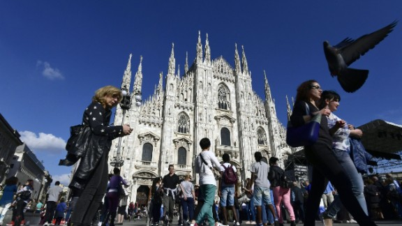 The Lombardy region includes the city of Milan.