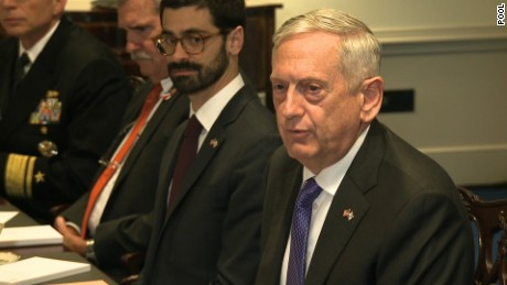 Mattis: We do not leave troops behind