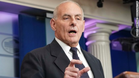 Kelly's defense of Trump calls into question 'fabricated' tweet
