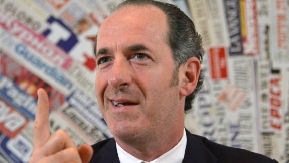 The president of Veneto, Luca Zaia, says more autonomy will have a positive impact.