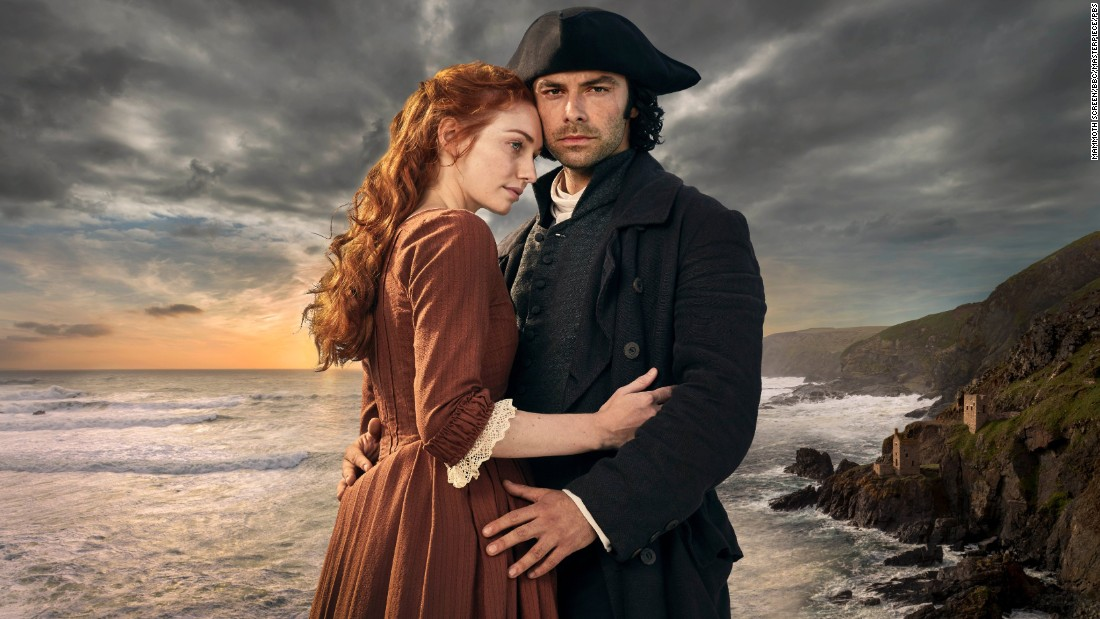 "This adaptation of Winston Graham's romantic novels takes place in 18th century Cornwall, in south-west England, and follows ex-soldier Ross Poldark as he returns from war to discover he has lost his childhood sweetheart to his cousin.  <br /><br />His unlikely relationship with his strong-willed servant Demelza plays out against the backdrop of the sweeping Cornish coastline.<br /><br />An earlier version of ""Poldark"" was broadcast between 1975 and 1977. The new series debuted in 2015 and has been sold to over 150 countries.<br />"
