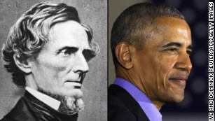Jefferson Davis out, Barack Obama in at Mississippi elementary school