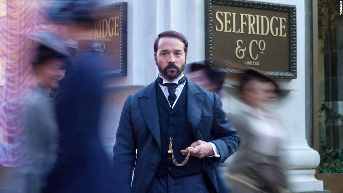 "Another period drama, ""Mr Selfridge"" tells the story of the American founder of London department store Selfridges.<br /><br />Set from 1908 to 1928, the show follows Harry Selfridge's attempts to make his store a success, as well as as his and financial troubles, and his ultimate unraveling.  <br /><br />It was first broadcast in 2013 and has since been sold to over 150 countries.<br />"