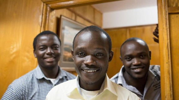 Three developers from Kenya, Marvin Makau, Edwin Inganji and Kenneth Gachukia, have created a panic button app that sends a distress signal with the shake of a phone. The app, Usalama, works by connecting people with emergency service providers, and sends their exact location when they shake their phone three times. It also alerts a next of kin and every other Usalama users within 200 meters. They