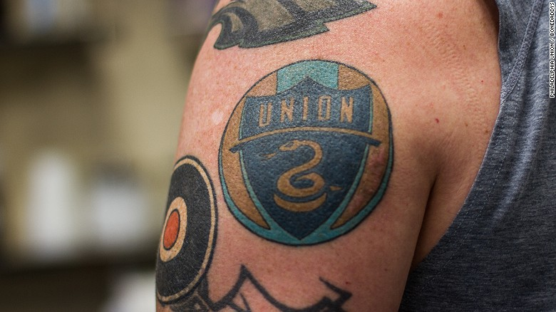 a4cb5d0f59536 MLS: Philadelphia Union hires Chief Tattoo Officer to ink players - CNN