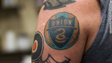 Atlanta united playing in the 39 mind blowing 39 home of mls for Philly sports tattoo