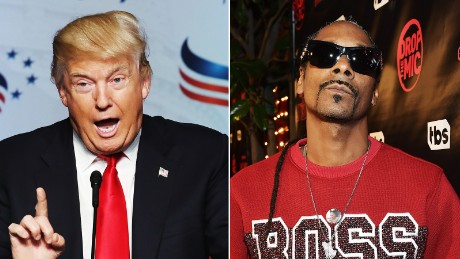 Snoop Dogg targets Trump as hip-hop's presidential onslaught continues