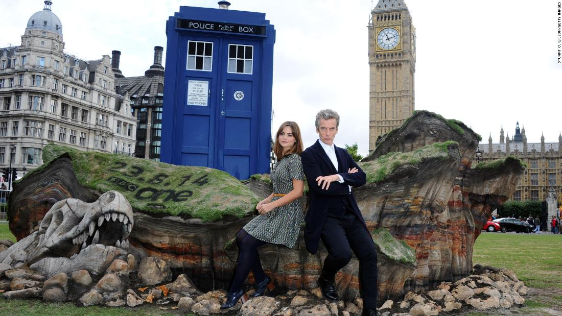 "Sci-fi show ""Doctor Who"" revolves around the adventures of an extraterrestrial Time Lord who travels through space and time in a TARDIS (which looks like a 1960s police phone box) to fight a host of enemies.<br /><br />The cult series was first broadcast from 1963 to 1989, and was revived in 2005. It has since been distributed to over 200 territories around the world, amassing a loyal following of ""Whovians."" <br />"