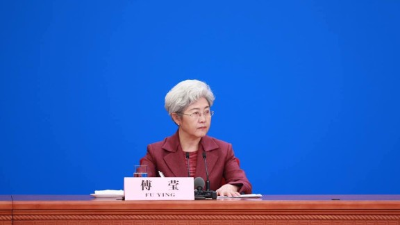 Vice Foreign Minister Fu Ying is one of only a handful of Chinese women in senior political positions.