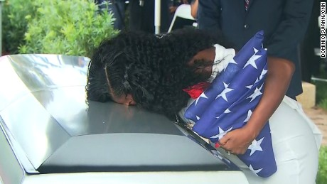 Loved ones say goodbye to Sgt. La David Johnson, US soldier slain in Niger