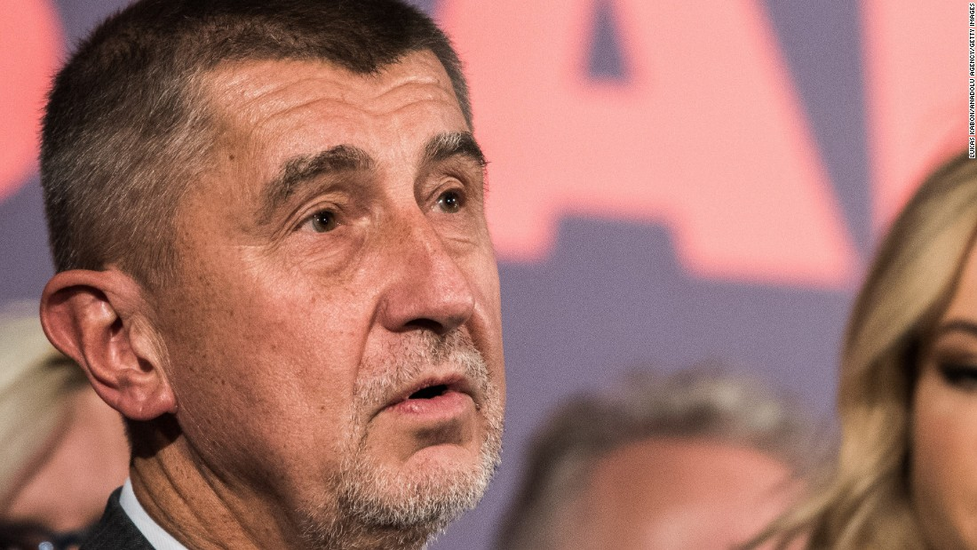 Party of Billionaire Andrej Babis Wins Czech Election