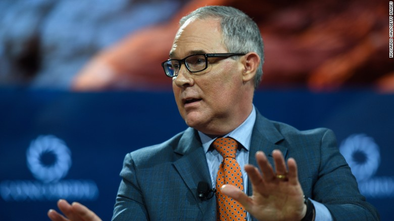 Pruitt questioned about 2016 Trump comments