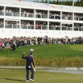 justin thomas 18th green crowd celebrates cj cup south korea golf