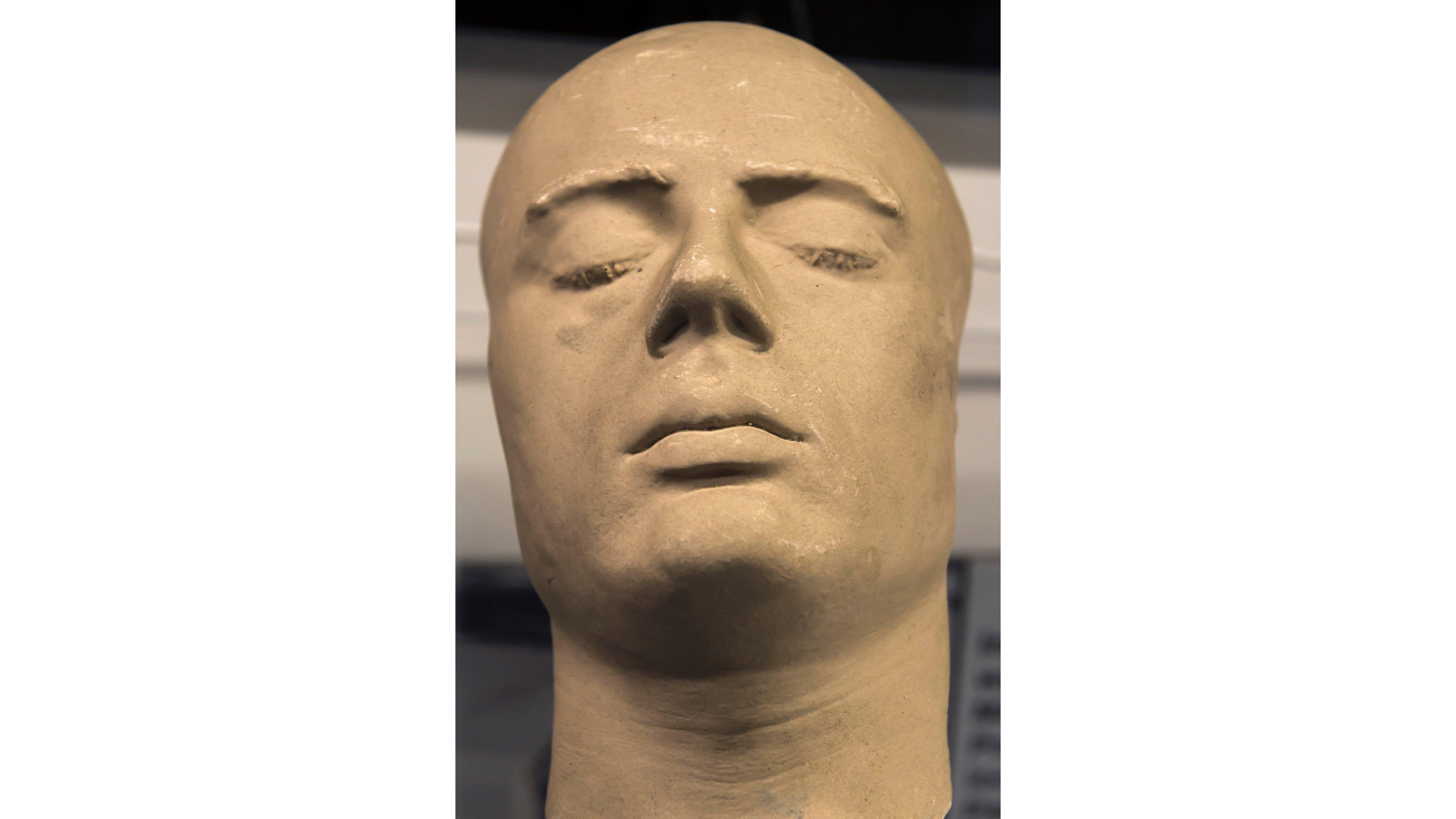 The curious art of death masks - CNN Style