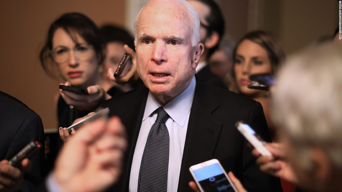 McCain slams Trump over siding with Putin on Russia meddling