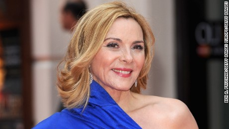 LONDON, ENGLAND - APRIL 28:  Kim Cattrall attends The Laurence Olivier Awards at the Royal Opera House on April 28, 2013 in London, England.  (Photo by Ben A. Pruchnie/Getty Images)