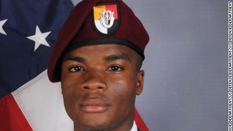 A private funeral was held for Sgt. La David T. Johnson in Cooper City, Florida.  Sgt. Johnson, 25, was part of a joint U.S. and Nigerian train, advise and assist mission and died October 4, 2017 in southwest Niger as a result of enemy fire.