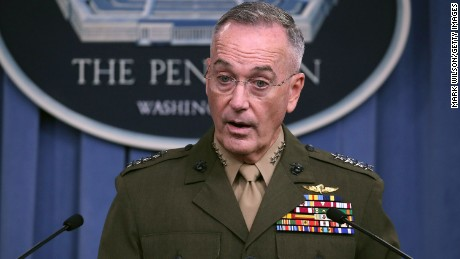 Top Russian and US generals speak amid threats over Syria