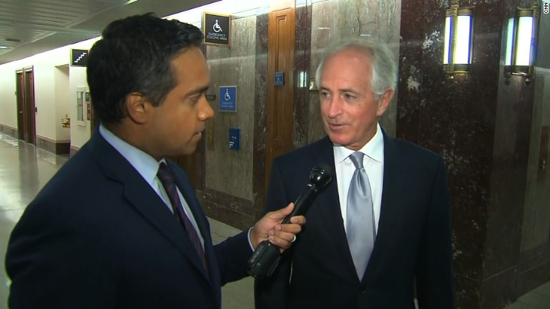 Corker: Leaders know what Trump says is untrue