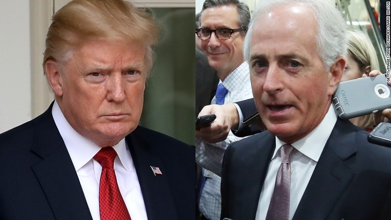 Corker's biggest Trump criticisms (so far)