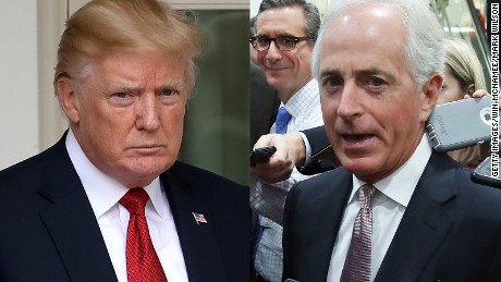 Corker on Trump: Alert the daycare staff