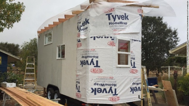 Contractor Building Three Tiny Homes To Help California Wildfire