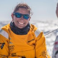 Volvo Ocean Race Dee Caffari Turn the Tide on Plastic  skipper