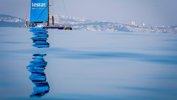 This year's edition of the Volvo Ocean Race began in Alicante, Spain and will take in 11 legs around the world, ending in The Hague in June.