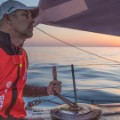 Volvo Ocean Race morning sunrise