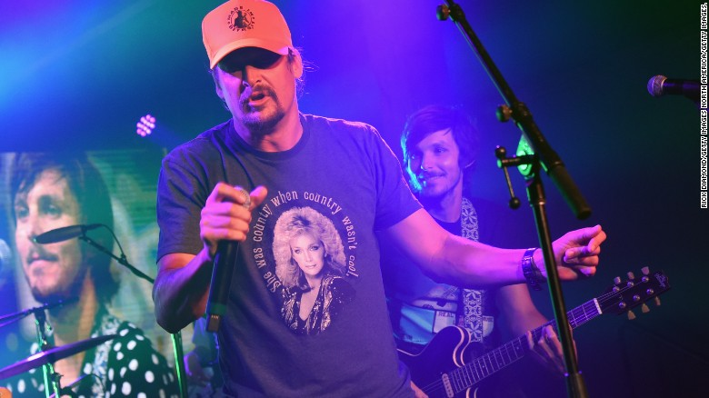 Kid Rock cancels shows after band members test positive for Covid-19
